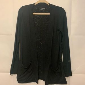 Women's Medium Cardigan w/pockets Dark Navy